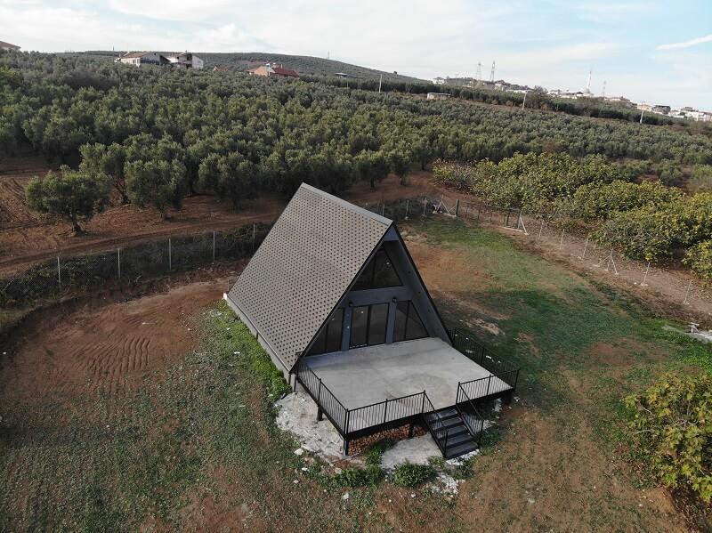 piramit ev çelik yapı (2)