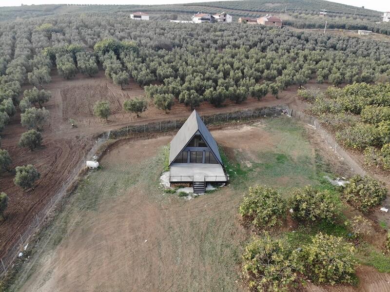 piramit ev çelik yapı (3)